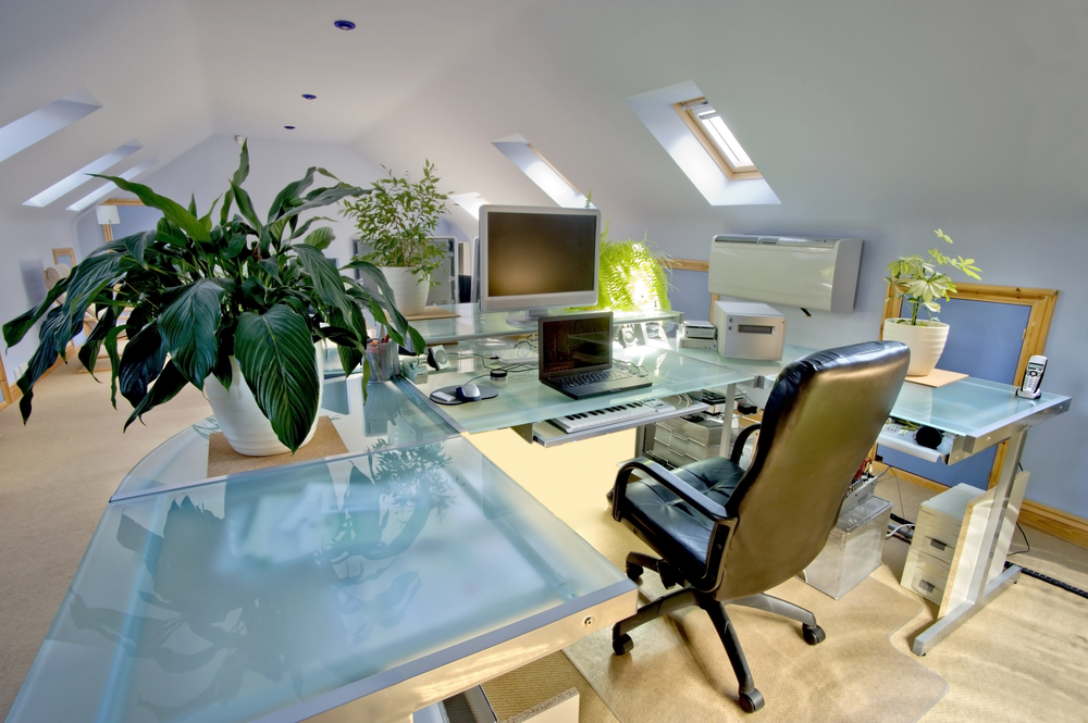 loft in Preston converted to an office